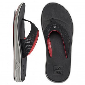 Reef Rover Mens Sandals - Grey / Black / Red
