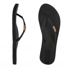 Reef Slim Ginger Womens Sandals - Black / Black