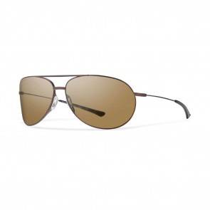 Smith ROCKFORD Matte Brown Brown Polarized Sunglasses