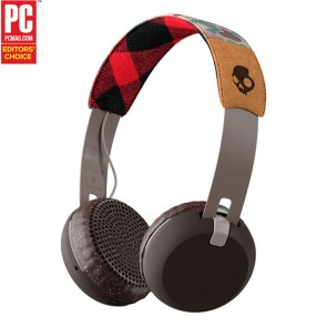 Skullcandy Grind BT Wireless Headphones Tan / Camo / Brown