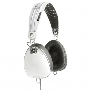 Skullcandy Roc Nation Aviator White w/Mic Headphones