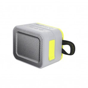 Skullcandy Barricade Bluetooth Portable Speaker Gray / Charcoal / Hot Lime