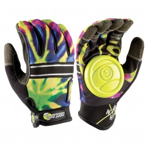 Sector 9 BHNC Slide Gloves - LIMEBURST