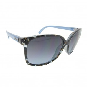 VonZipper CASTAWAY Sunglasses in Blue Tortoise with Crystal Blue
