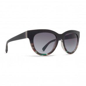 VonZipper QUEENIE Muddled Teal Brown Gradient Sunglasses