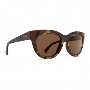 VonZipper QUEENIE Muddled Teal / Brown Gradient Sunglasses.