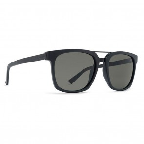 VonZipper PLIMPTON Black Satin / Grey Sunglasses