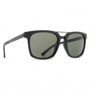 VonZipper PLIMPTON Black Satin Grey Sunglasses