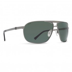 VonZipper SKITCH Charcoal Gloss Wild Vintage Grey Polarized Sunglasses