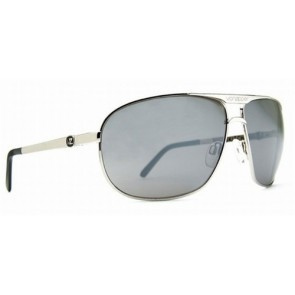 VonZipper SKITCH Sunglasses Silver / Grey Poly Polarized