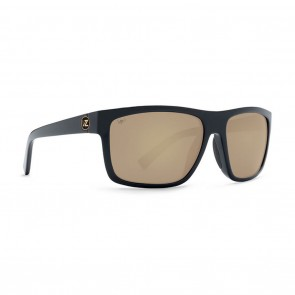 VonZipper SPEEDTUCK Black Satin / Gold Glo Poly Polarized Sunglasses