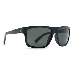 VonZipper SPEEDTUCK Black Gloss / Grey Glass Polarized Sunglasses