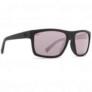 VonZipper SPEEDTUCK Black Satin Wildlife Plus Rose Chrome Polarized Sunglasses