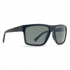 VonZipper DIPSTICK Black Gloss / Grey Poly Polarized Sunglasses
