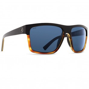 VonZipper DIPSTICK Black Hardline Tortoise Wildlife Slate Grey Polarized Sunglasses