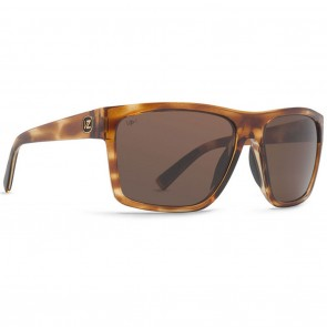 VonZipper DIPSTICK Tortoise Gloss Bronze Poly Polarized Sunglasses