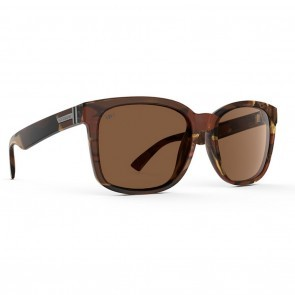 VonZipper HOWL Tobacco Tortoise Gloss / Bronze Poly Polarized Sunglasses