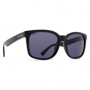 VonZipper HOWL Black Gloss Wild Vintage Grey Polarized Sunglasses