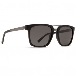 VonZipper PLIMPTON Black Gloss with Grey Poly Polarized Sunglasses