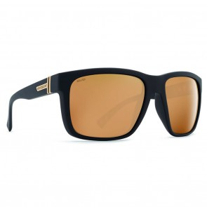 VonZipper MAXIS Black Satin Wildlife Gold Polarized Sunglasses
