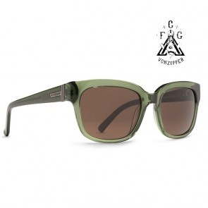 VonZipper COMMONWEALTH FCG Green / Bronze Sunglasses  Limited Edition