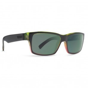 VonZipper Fulton Vibrations Black Satin / Quasar Eclipse Sunglasses