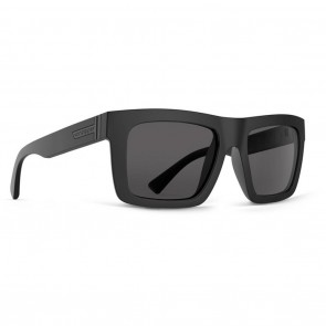 VonZipper DONMEGA Black Satin / Grey Sunglasses