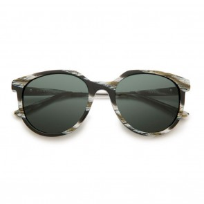 VonZipper HYDE Black Horn Satin Gunmetal Grey Sunglasses