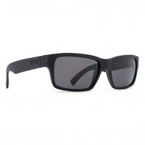 VonZipper FULTON Sunglasses Black Satin Grey
