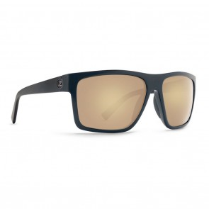 VonZipper DIPSTICK Black Satin Gloss DUO / Gold Glo Sunglasses