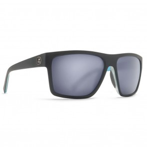 VonZipper DIPSTICK Hot Box Black Blue Satin / Slate Matte Sunglasses