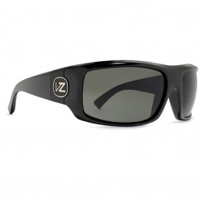 VonZipper CLUTCH Black Gloss / Grey Sunglasses