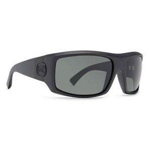 VonZipper CLUTCH Shift Into Neutral Black Satin Grey Sunglasses