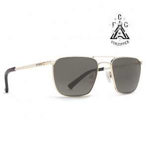 VonZipper LIBERTINE FCG Gold / Vintage Grey Sunglasses - (LTD)