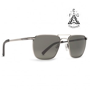 VonZipper LIBERTINE FCG Silver / Grey Sunglasses - (LTD)