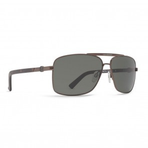 VonZipper METAL STACHE Copper Gloss Tortoise Satin with Vintage Grey Sunglasses-SMWFMMST-CTV