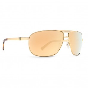 VonZipper Skitch Gold / Gold Chrome Sunglasses