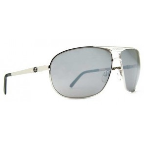 VonZipper SKITCH Sunglasses Silver Grey Chrome