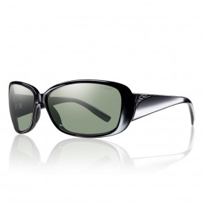 Smith SHOREWOOD Black / ChromaPop Polarized Grey Green Sunglasses