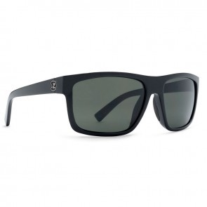 VonZipper SPEEDTUCK in Black Gloss / Grey Glass Polarized Sunglasses