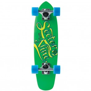 "Sector 9 The Steady (6.75"" x 25"") Green Longboard Complete"