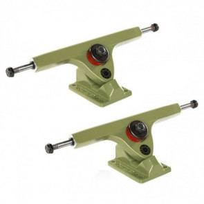 Caliber Longboard Trucks - 10in / 44 degree Grenade Green-Main