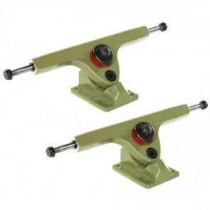 Caliber Longboard Trucks - 10in / 50 degree Grenade Green-Main