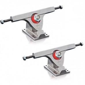 Caliber Longboard Trucks - 10in / 50 degree Raw-Main