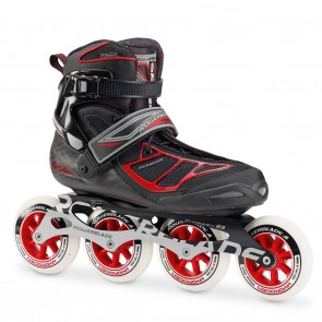 Rollerblade Tempest 100 Black and Red Inline Skates