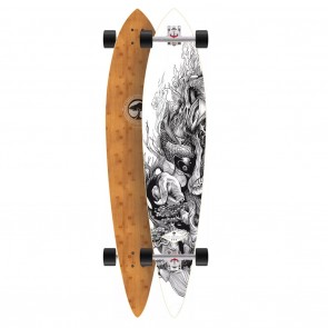 Arbor Timeless Bamboo 46 BC Longboard Deck Complete
