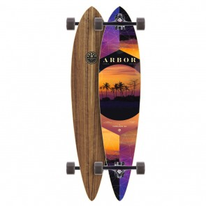 Arbor Timeless Walnut Pintail 42 Longboard Complete