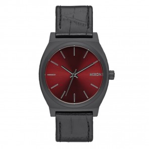 Nixon Time Teller Black Gator Watch