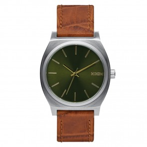 Nixon TIME TELLER Saddle Gator Watch
