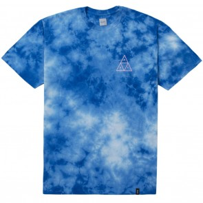HUF WASHED TRIPLE TRIANGLE Tee - Blue